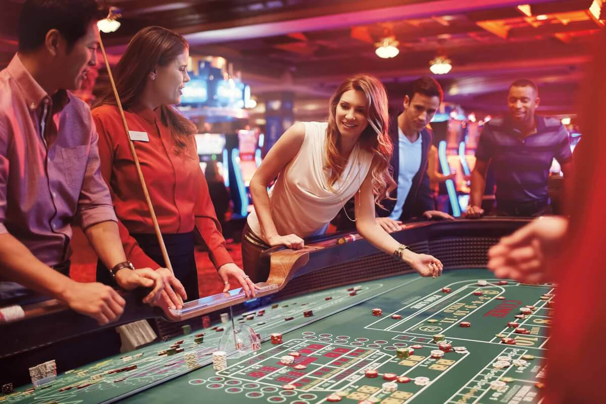 Casino se chansen att vinna Umschnallen