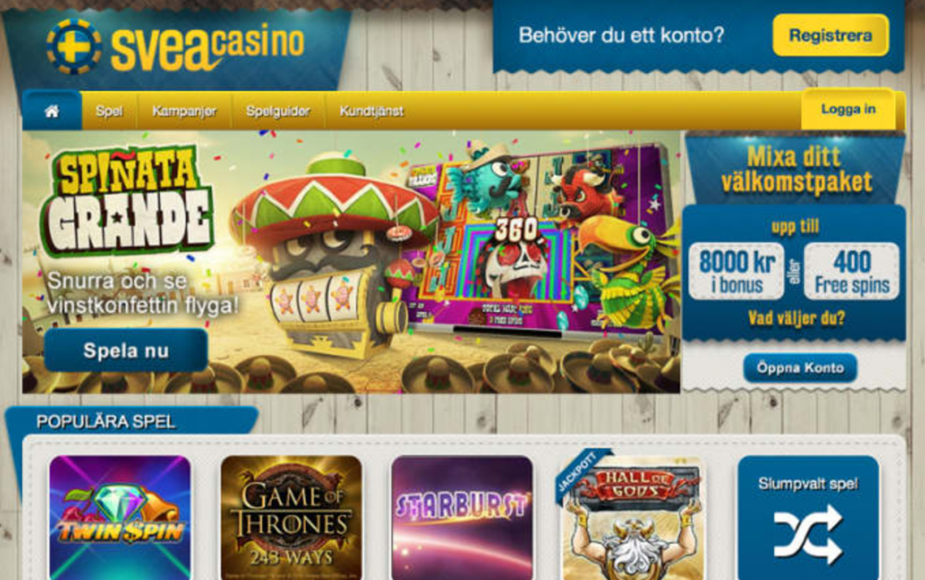 Skrill uttag casinoerbjudande varje Koffer