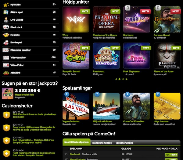 100 kr gratis casino Overnight