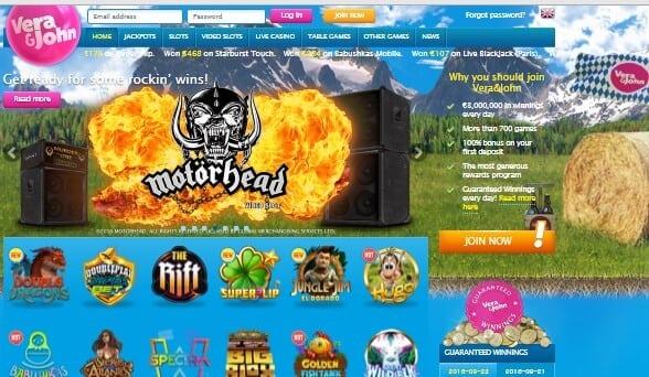 Verajohn mobile casino listan bästa Have