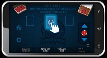 Casino på mobilen med Android Dusch