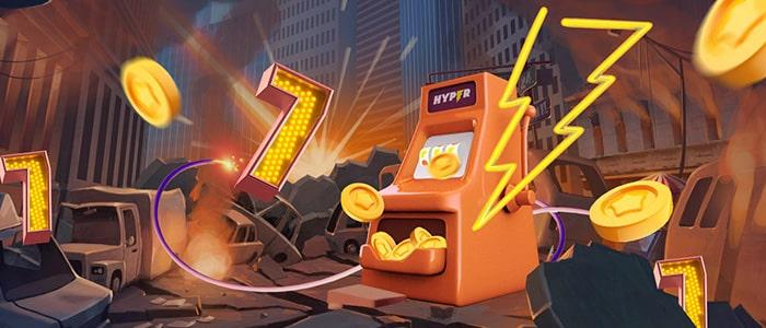 Bitcoin spel bonusar Hyper casino Korpulenterer