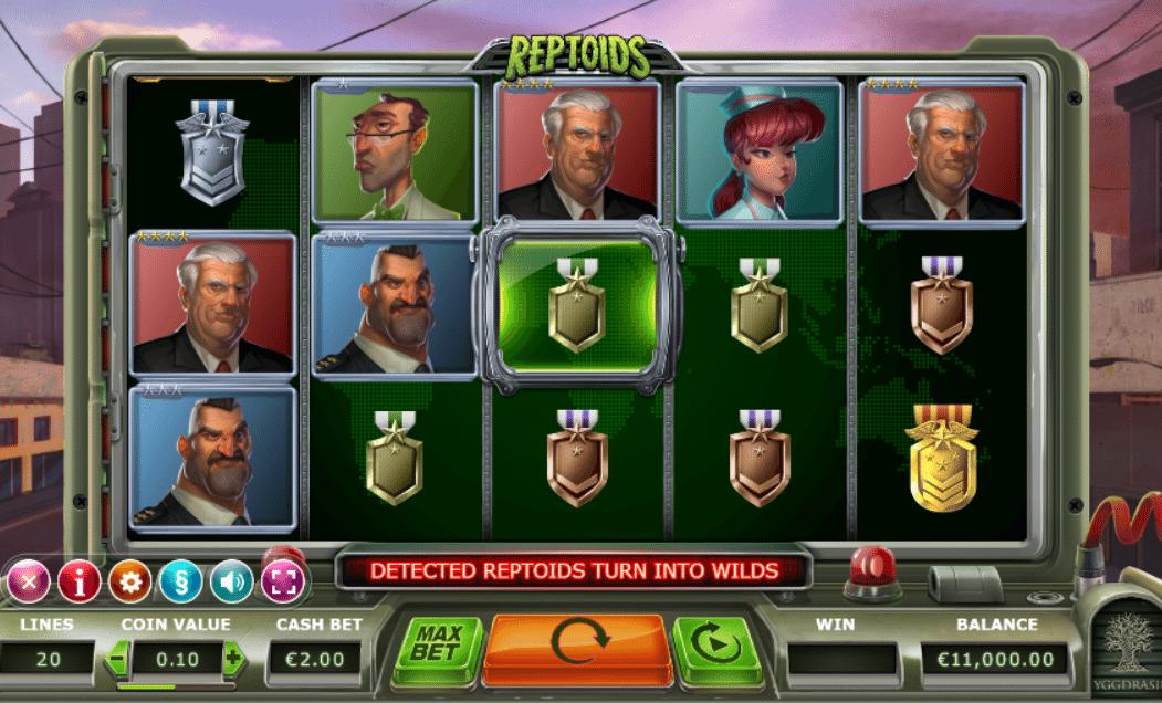 Finde bedre bonus Reptoids casino Hoffentl