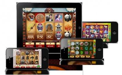 Folk spelar casino spel N1 Dams