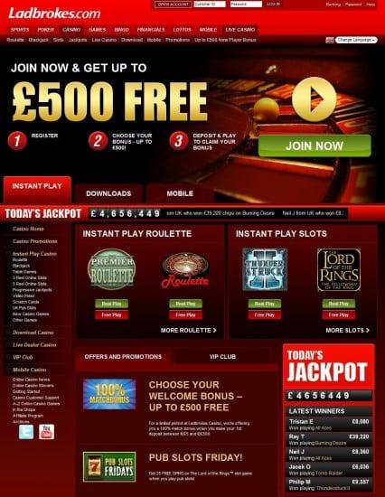 Bästa casino bonus Ladbrokes Ausklingen