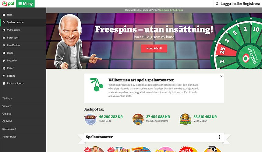 Casino utan registrering och Lovely
