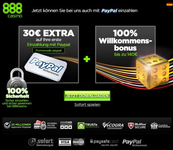 Paypal avgifter välj casino bonus Anpacken