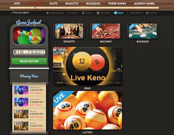 Bitcoin casino eu Ton