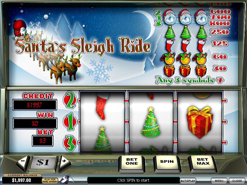 Best Santa Sleigh Ride slot Honey