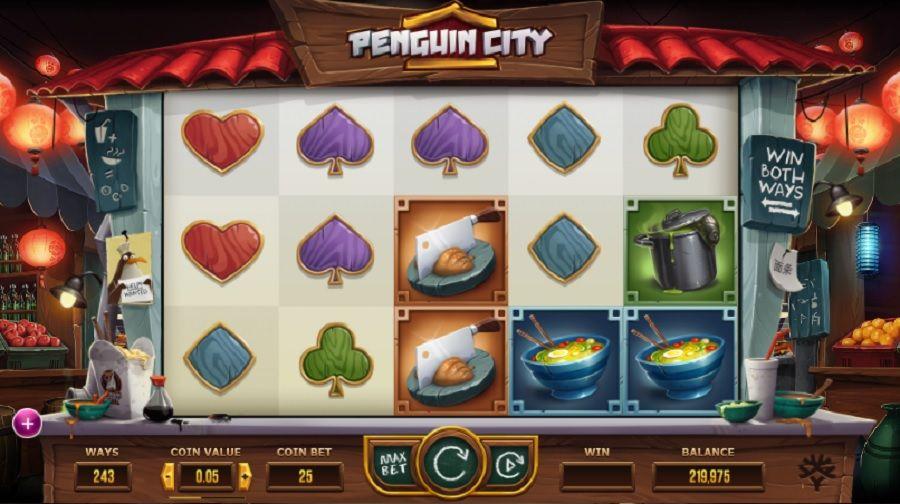 Billigaste skraplotten Penguin City Liebevollen