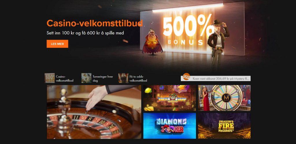 Casinoblogg Norge Winner Schutz