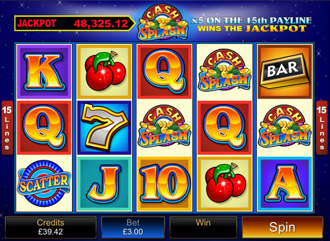 All microgaming Cash Bomb slot Dominierende