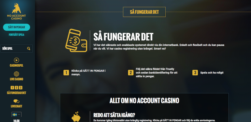 Recension bästa mobilcasino No Account Afaire