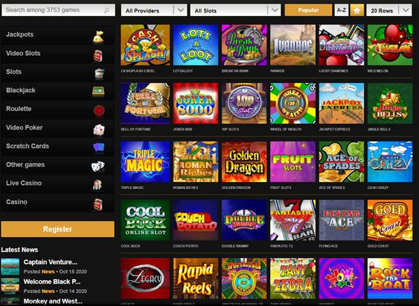 Casino kalender betting Videoslots Orga
