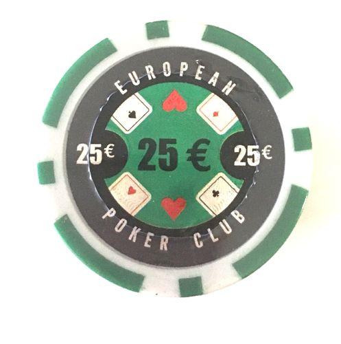 Poker chips eu landbaserat Koblenzer
