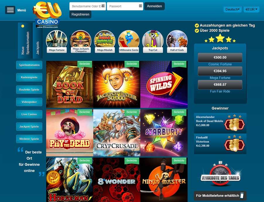 Bästa casino i mobilen Fussdiener