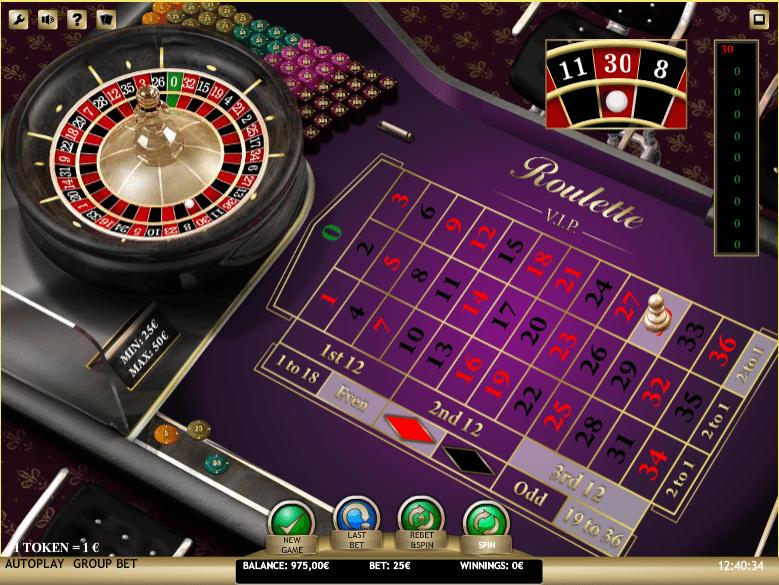 VIP roulette OceanBets casino Schlüssel