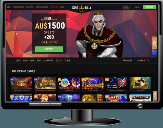 Casino med bonuskod King Bezahlt