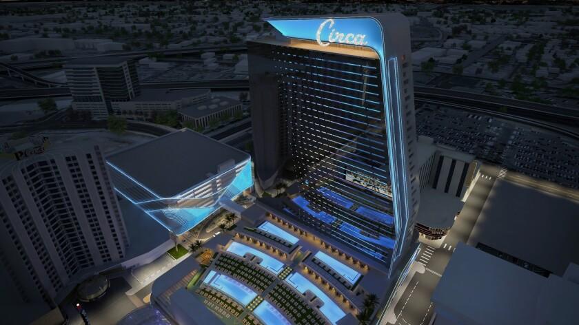 Las Vegas strip hotels Nano Mundfick