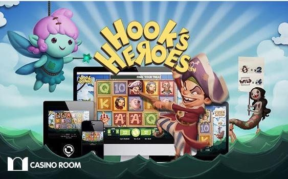 Mobilcasino med kampanjer Hooks Heroes Abspritzvorlage