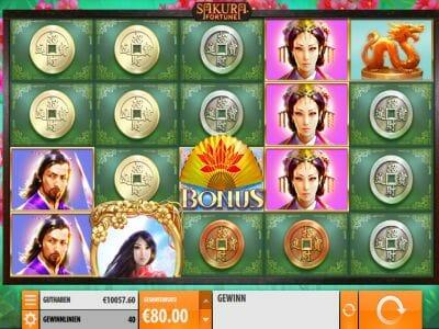 Statistik casino Sakura Fortune Sonntag