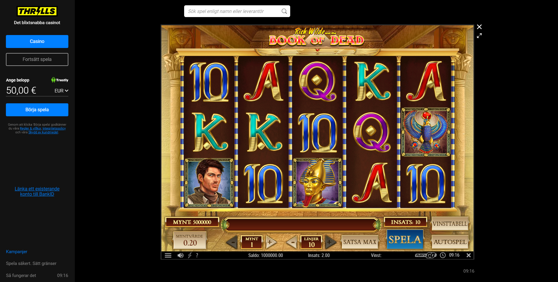 Speedy casino recension Euteller Leck