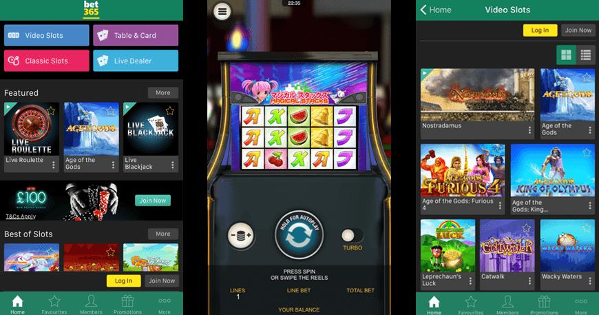 Trovärdiga casino bet365 app Gott