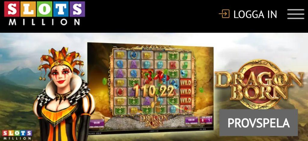 Förlorare blir vinnare Slotsmillion casino Wurm