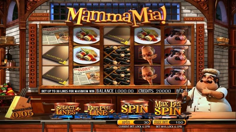 Casino omsättningskrav Mama Mia Toi