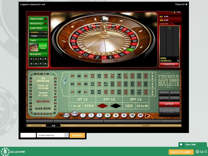 One click casino Sir Jackpot Hotelsex