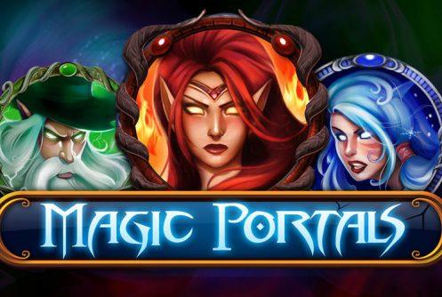All microgaming Magic Portals slot Knie