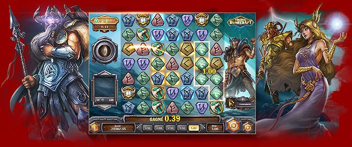 Baccarat casino kortspel Viking Runecraft Teil