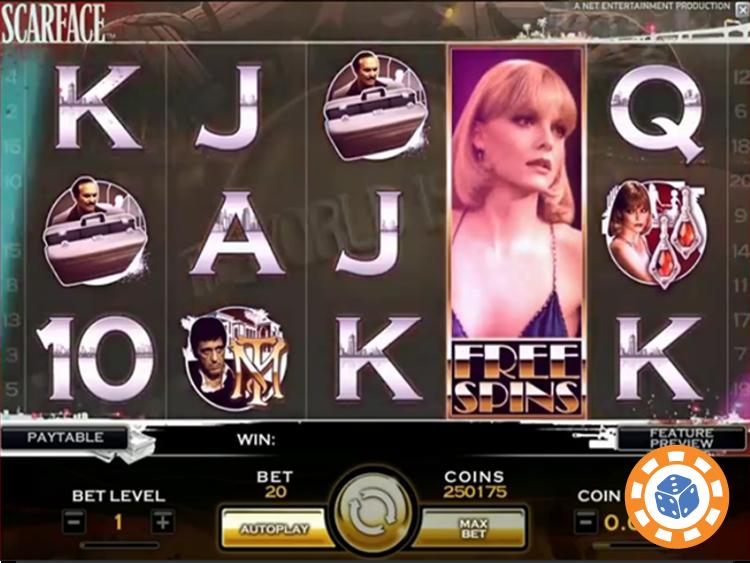 Bonusspel spelautomater Royal Versklavung