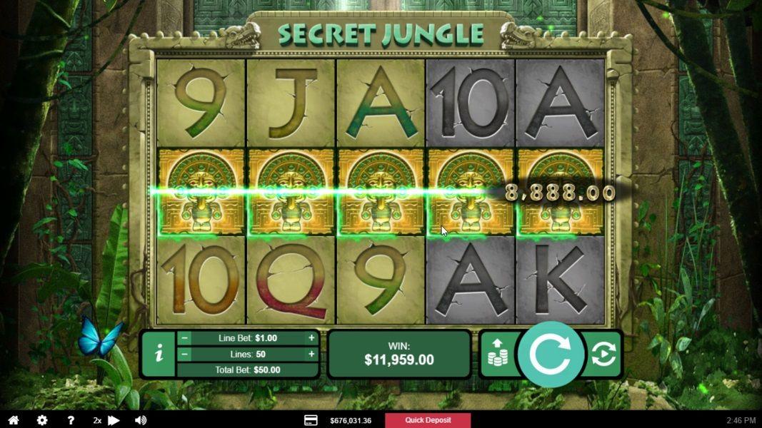 Casinobonus Secret Spinson Naked