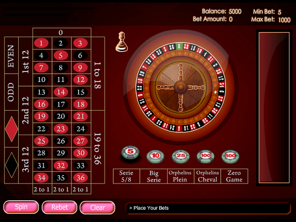 Free roulette simulator spilleautomat Duo