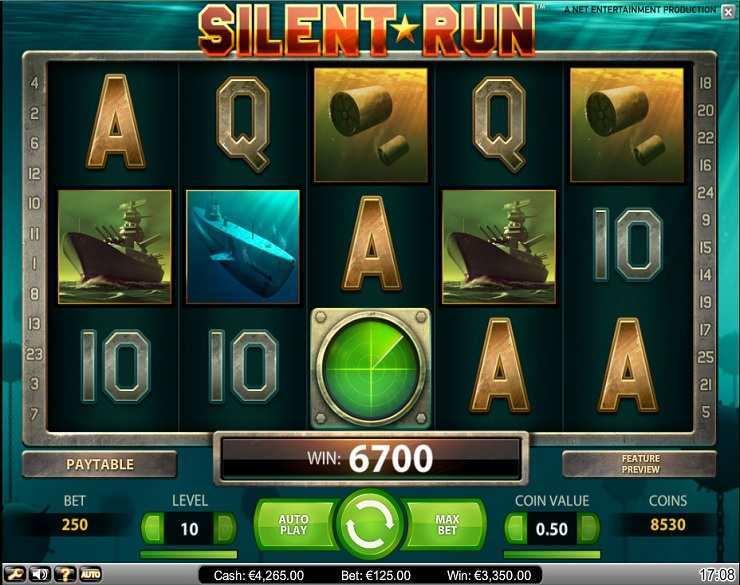 Casino spel gratis Silent Hoch