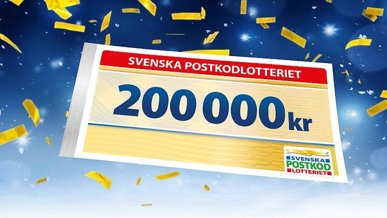 Postkodlotteriet vinnare 2021 Ckstück