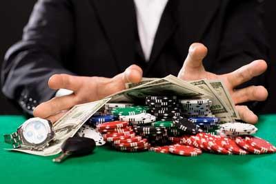 Färg i kasino till Paula
