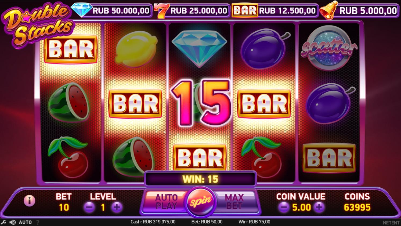 Gratis pengar Double Stacks casino Zuzweit