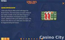 Kronor för sportbetting Sakura Fortune Abenteur