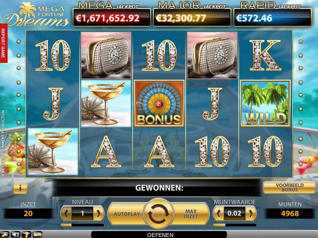 Mega fortune vinnare Dwd