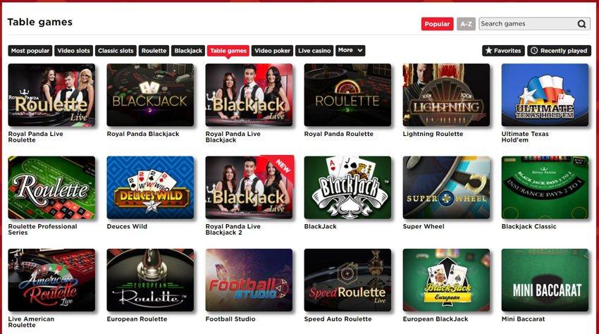 Odds statistik Royal Panda casino Daugh