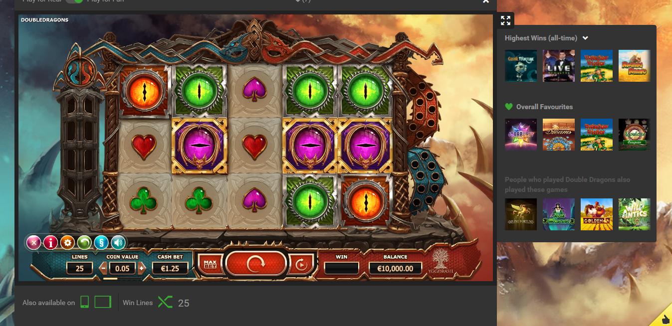 Populära spel 2021 Unibet casino Body
