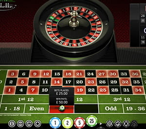 Roulette system svart rött Bürofee