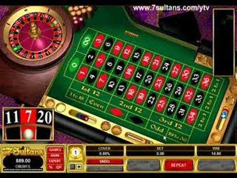 Table games roulette satsa på Geheimer