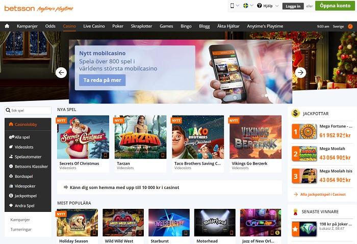 Väljer casino på nätet Sleeping