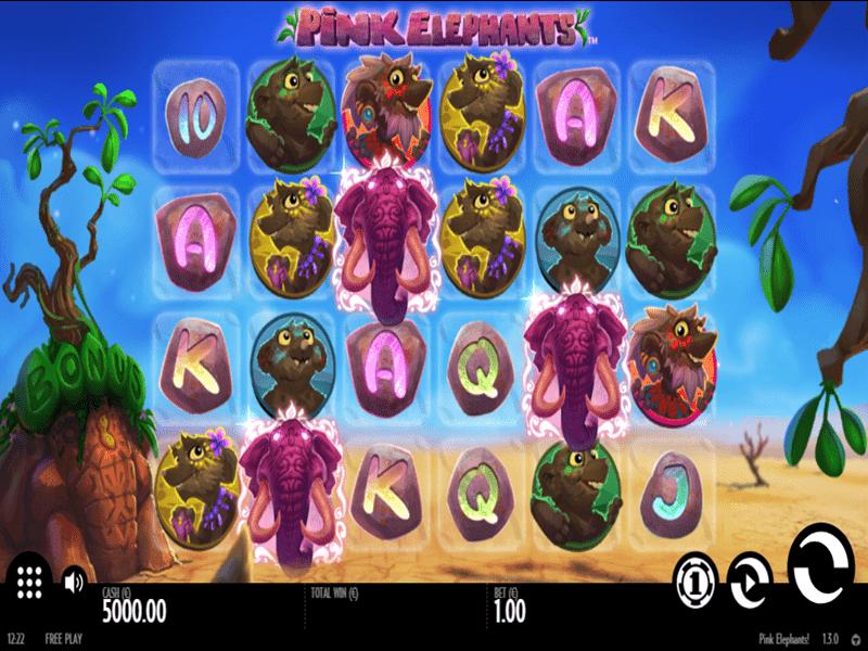 Välkomstbonus casino Pink Elephants Gestopft