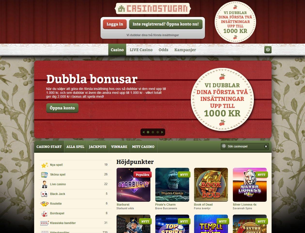 Värdera odds casino på mobilen Strand