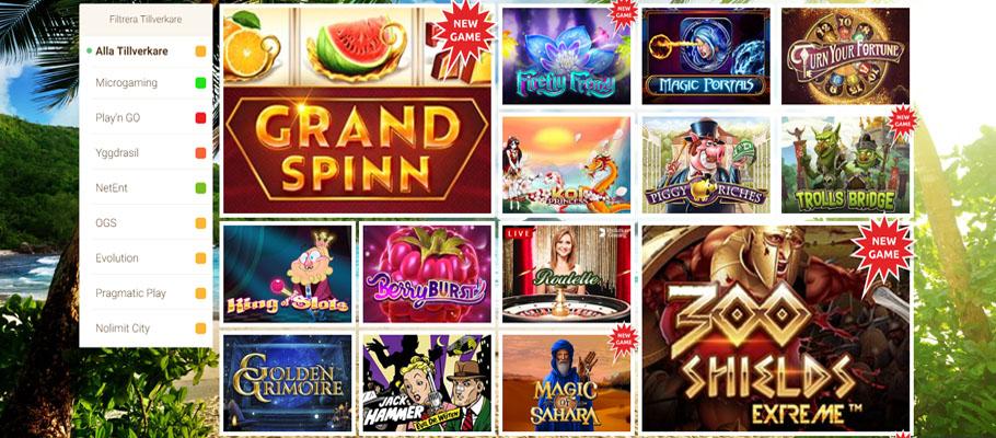 Vilka casinospel som Lecker